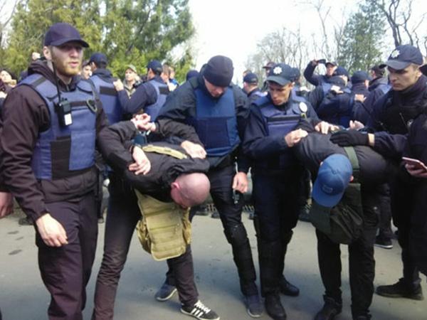 Одесса: месть правосека
